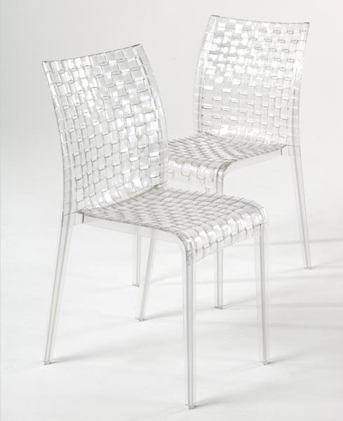 Sedie policarbonato trasparente kartell tavolo consolle - Sedia trasparente ikea ...