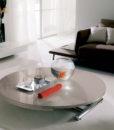 Tavolino Trasformabile Globe Cr Ozzio Italia
