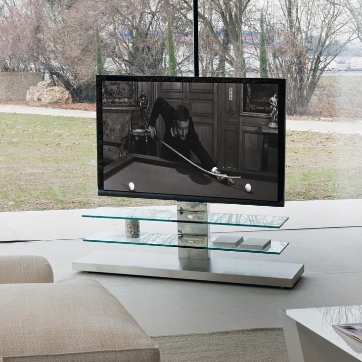 Porta tv panorama cattelan italia pozzoli living moving - Porta tv cattelan ...