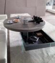 Tavolino Elevabile Bellagio Round Ozzio Italia