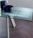 Tavolo Allungabile Cristallo Luxury Easyline 2