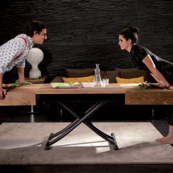 Tavolino Trasformabile Box Legno Ozzio Italia
