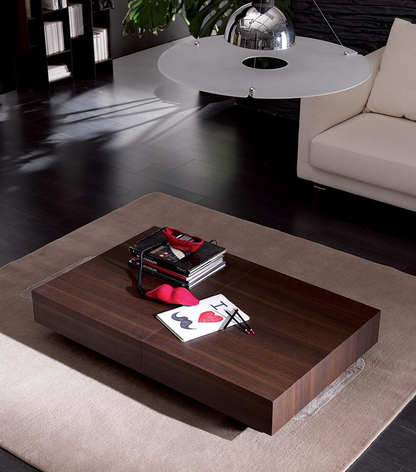 Tavolino trasformabile box legno ozzio italia pozzoli - Tavolo box ozzio ...