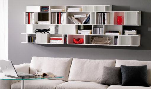 Libreria Orientabile Byblos Ozzio Italia