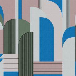 Carta da Parati Impression D'Orient London Art