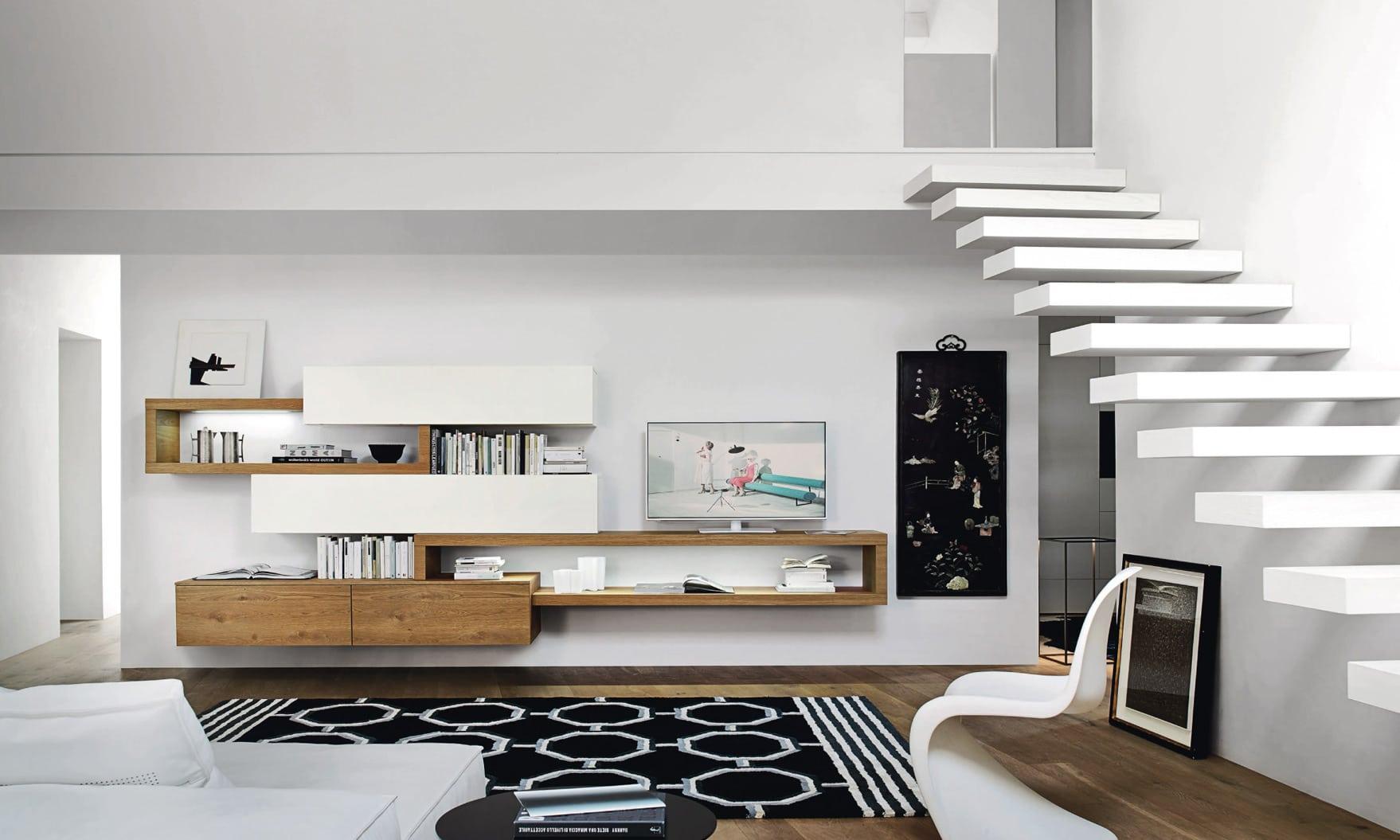 Soggiorno l5c25 san giacomo pozzoli living moving for Immagini mobili soggiorno moderni
