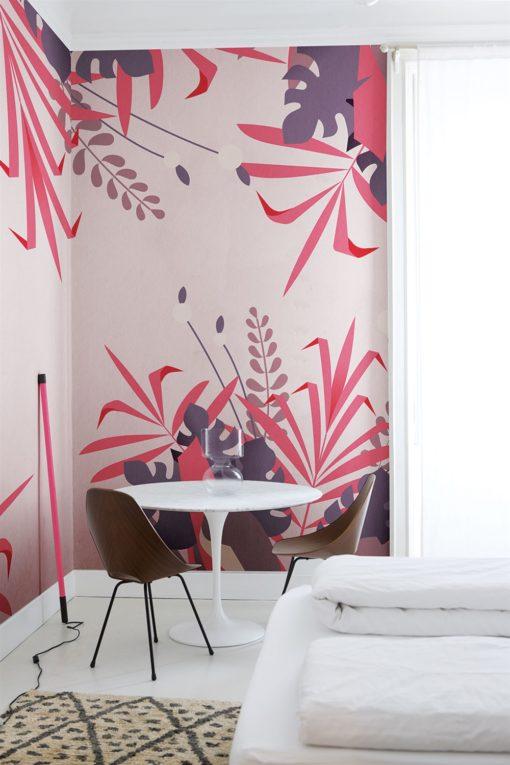 Carta da Parati Pink Room London Art