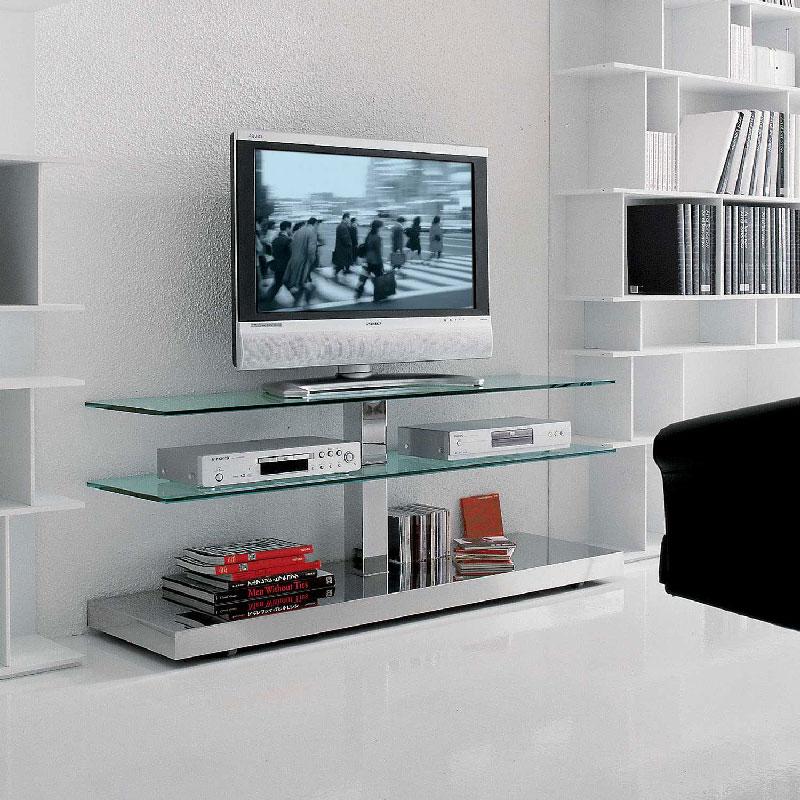 Porta Tv Design Innovativo.Porta Tv Vision Cattelan Italia