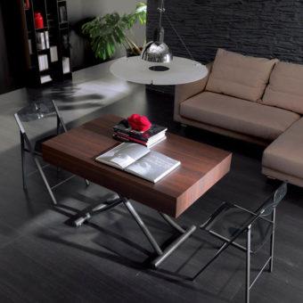 Tavolino Trasformabile Box Legno – Ozzio Italia