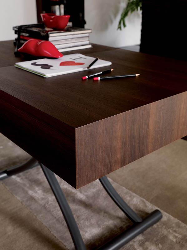 Tavolino Trasformabile Box Legno