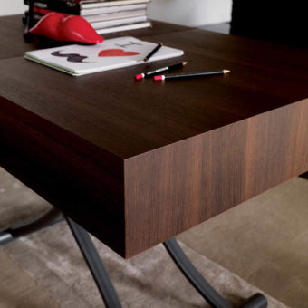 Tavolino Trasformabile Box Termotrattato – Ozzio Italia