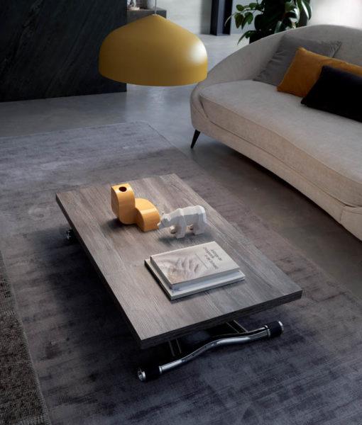 Tavolino Trasformabile Sydney + Sedie Pieghevoli Nobys
