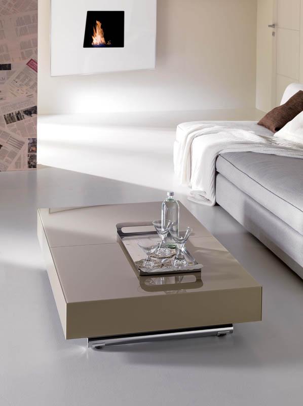 Tavolino trasformabile box ozzio italia pozzoli living for Move arredamenti