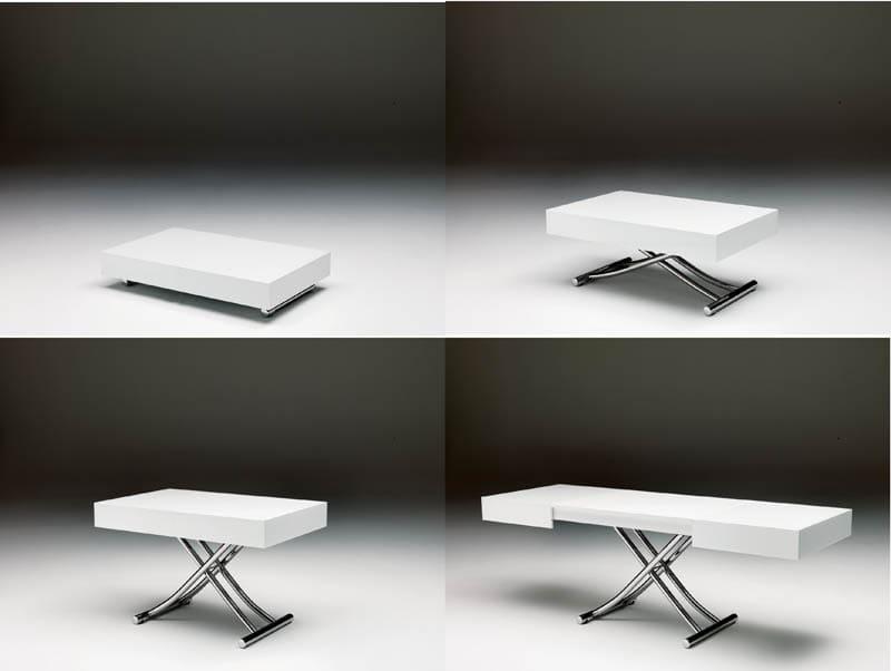 Ozzio trasformabile tavolino