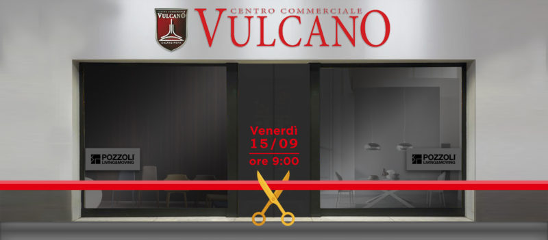 Temporary Outlet Apertura CC Vulcano