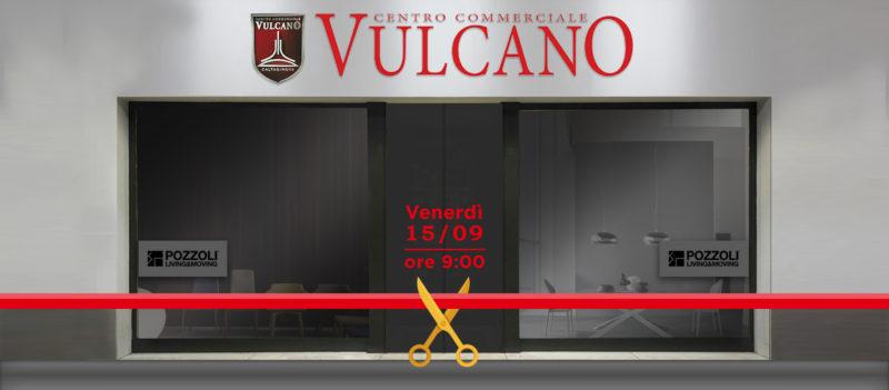 Temporary Outlet Apertura CC Vulcano