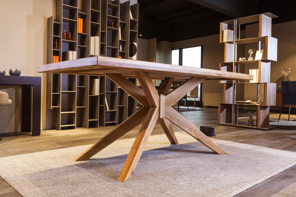 Tavolino legno massello Pozzoli