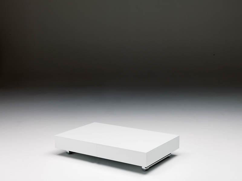 Tavolino Trasformabile Box Cristallo