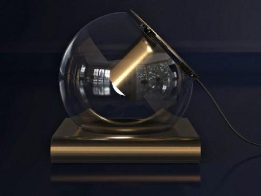 Lampada da tavolo The Globe