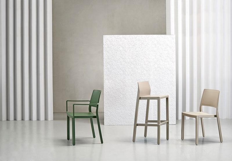 Sgabelli Colorati Interior Design.Sgabello Kate Scab Design