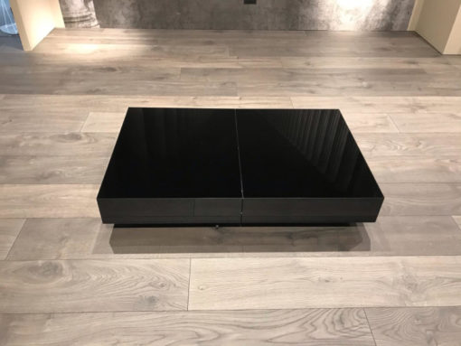 Tavolino Trasformabile Box Nero