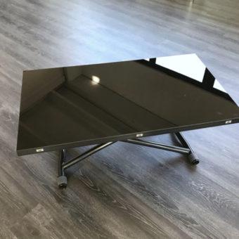 Tavolino Trasformabile Sydney Nero – Ozzio Italia