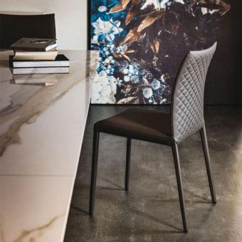 Sedia Norma Couture Lino – Cattelan Italia