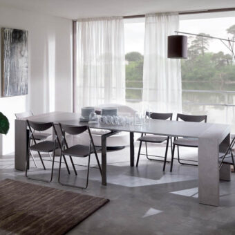 Consolle Allungabile Glass Promo – Ozzio Italia