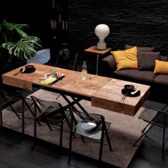 Tavolino Trasformabile Box Legno Promo – Ozzio Italia