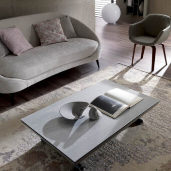 Tavolino Trasformabile Icaro Ceramica – Ozzio Italia
