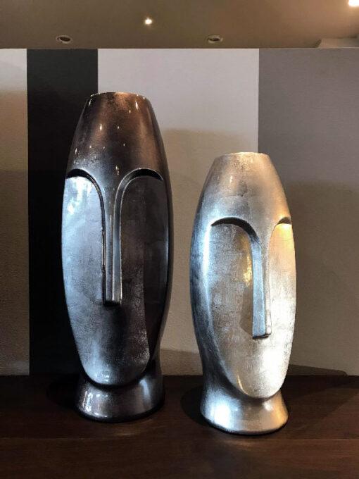 Vaso Metallic Steel