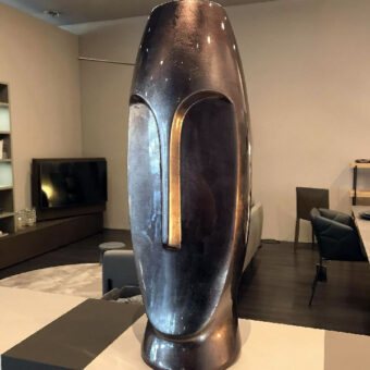 Vaso Metallic Steel – Ambienti Glamour
