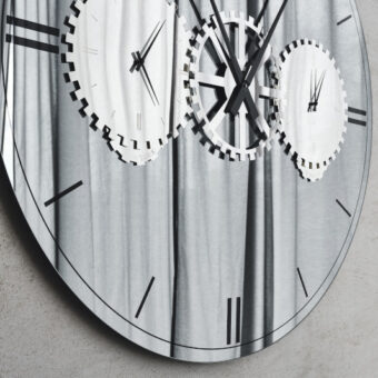 Specchio Orologio Times – Cattelan Italia