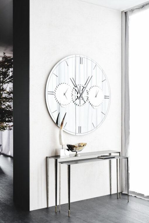 Specchio Orologio Times
