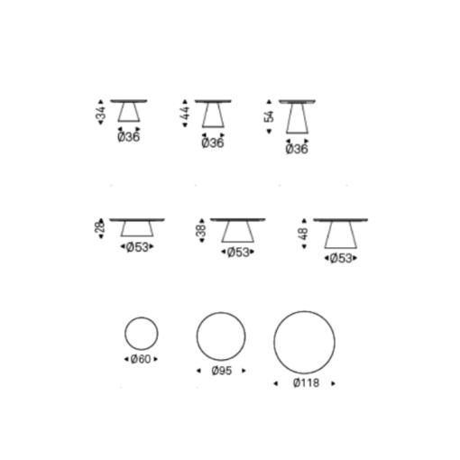 Tavolino Amerigo