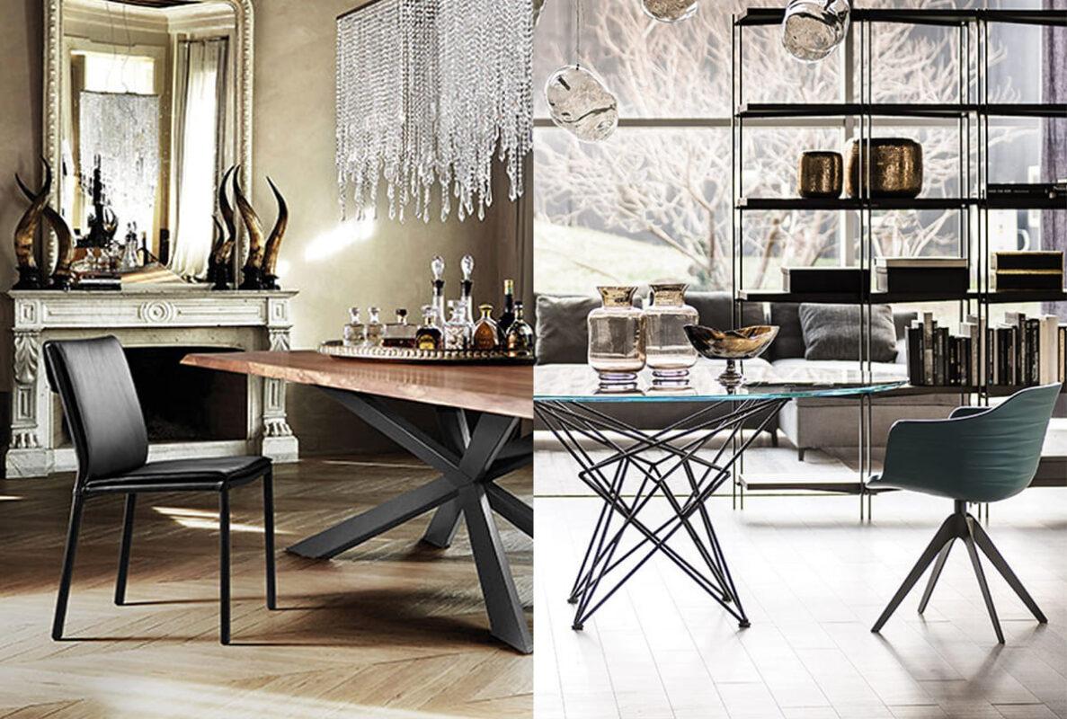 Tavolo rotondo o rettangolare? Come sceglierlo