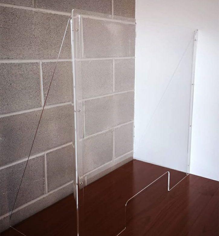 Barriere in plexiglass anticontagio