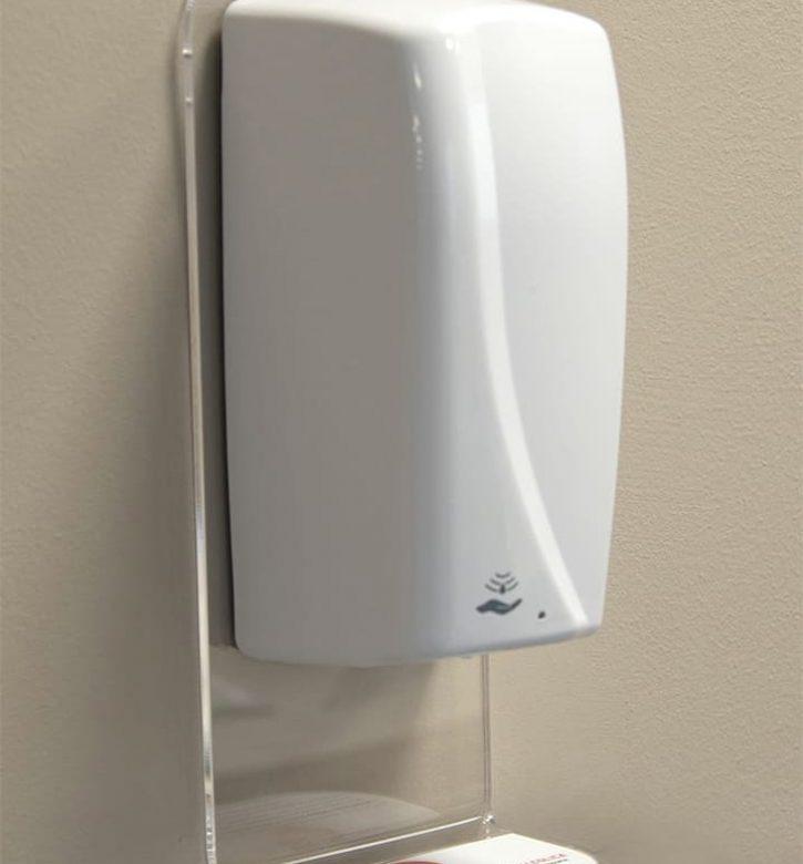 Dispenser igienizzanti da muro